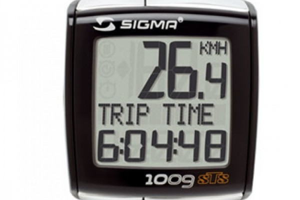 SIGMA BC 1009 wired bike computer