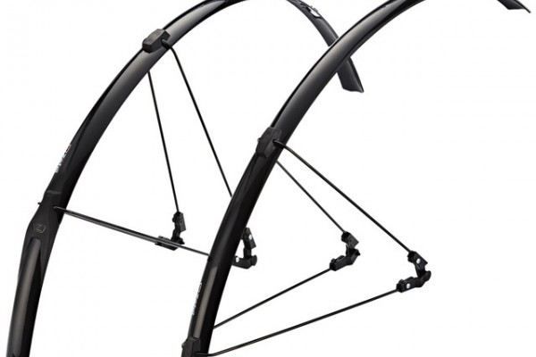 ZEFAL SHIELD R30 Strap-on madguards for road bikes