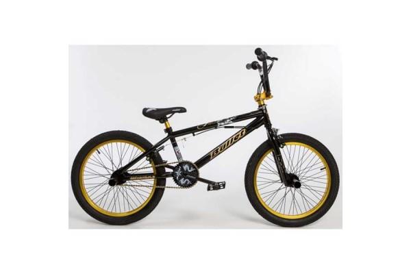 BULLET Bora BMX black-yellow