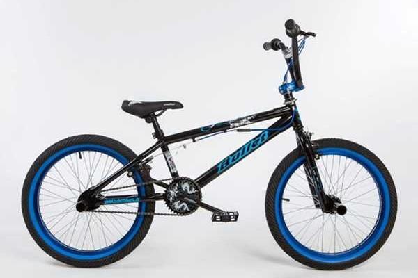 BULLET Bora BMX black-blue
