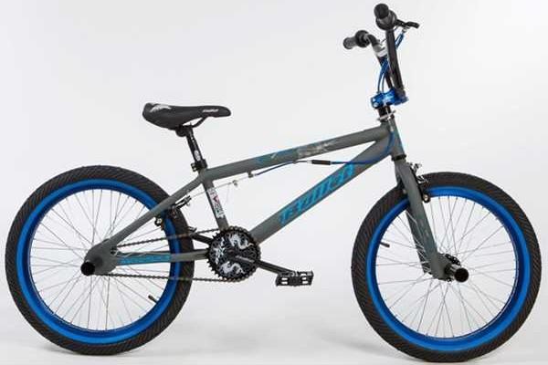 BULLET Bora BMX grey-blue