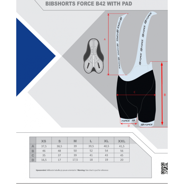 FORCE Bib Shorts B42